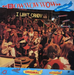 Bow Wow Wow ‎- I Want Candy (LP) (EX+/VG-EX)